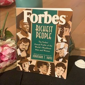 Forbes richest people book